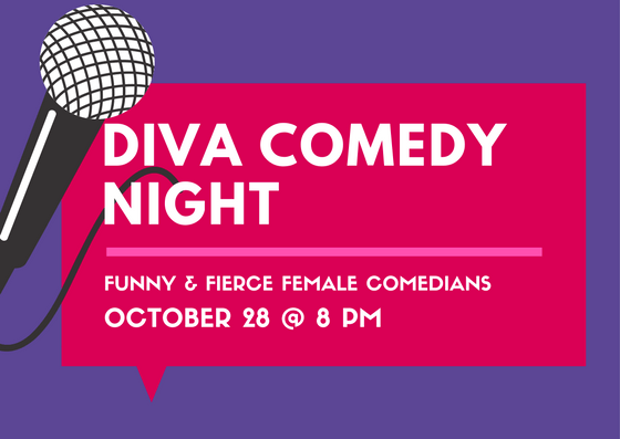 Diva Comedy Night - SOLD OUT