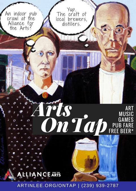 Arts on Tap: Indoor Art & Pub Crawl