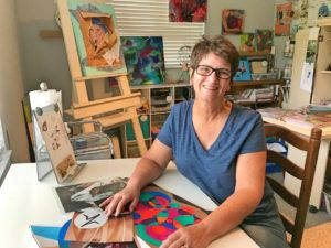 Donna Chase in Studio