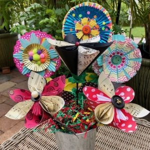 Whimsical Paper Flowers (Ages 12+)