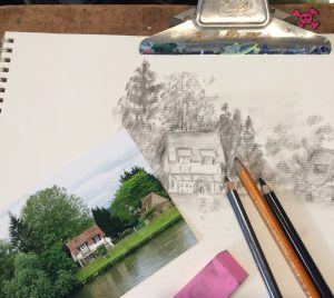 Perspective and Landscape Drawing (Ages 16+)