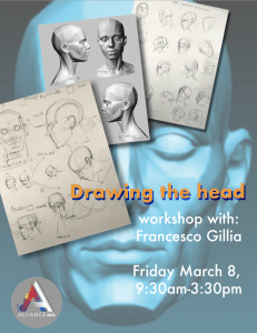 Fridays with Francesco – Drawing the Head (Ages 18+)