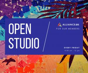 Member Artist Open Studio (Ages 16+)