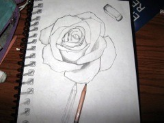 Sketch Pad Drawing (Ages 18+)