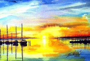 Realistic Watercolor – Skies Made Easy (ages 13+)