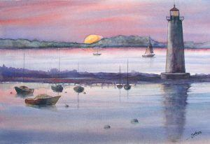 Watercolor Made Easy – Outside the Traditional Watercolor Box (ages 13+)