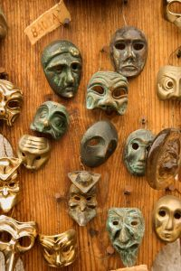 What is Your Mask? – Acting Social Workshop (ages 18+)