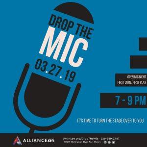 Drop The Mic – Open Mic Night