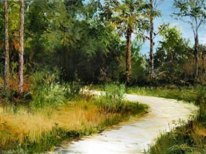 Palette Knife Painting in Oil from Landscape Photography   (Ages 16+)