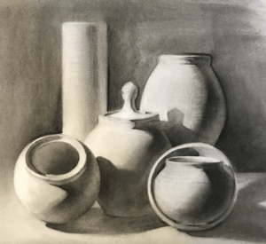Draw with Charcoal: Develop and Improve your Drawing Skills (Ages 16+)