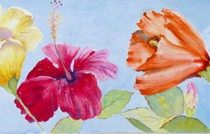 Creating Luminous Flowers in Watercolor (ages 13+)