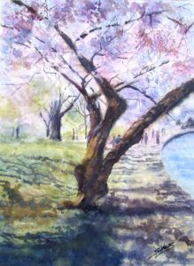 Realistic Seasonal Watercolor Landscapes (Ages 13+)