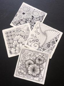 Zentangle® – Enjoy Drawing Effortlessly! (Ages 12+)