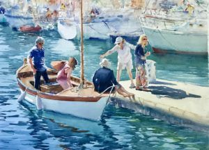 Watercolors – Loose, Luminous, and Colorful (Ages 16+)