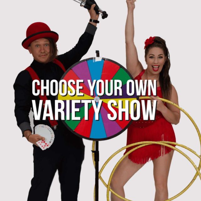 Choose Your Own Variety Show by George Gilbert and Brittany Sparkles